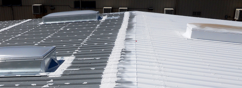 Awesome Get The Project Done Fast With Fabric Less Metal Roof Coating Systems